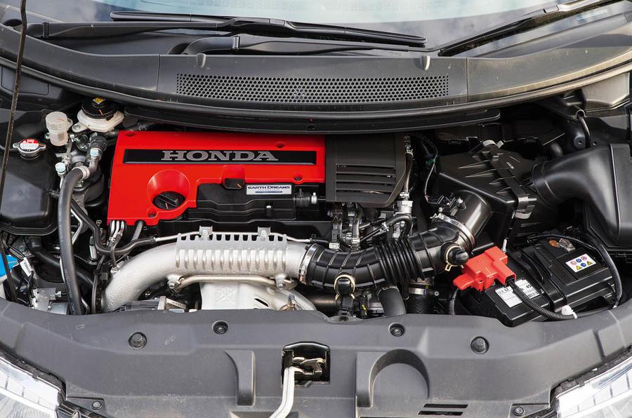 Honda Civic Type R engine