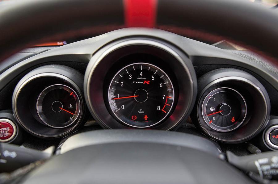Honda Civic Type R dials
