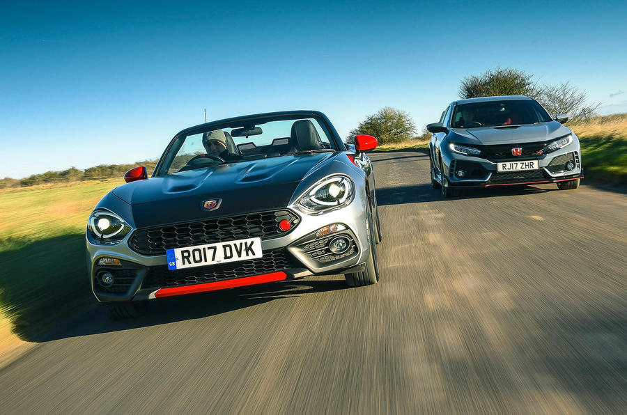 Honda Civic Type R vs Abarth 124 Spider: which is best?