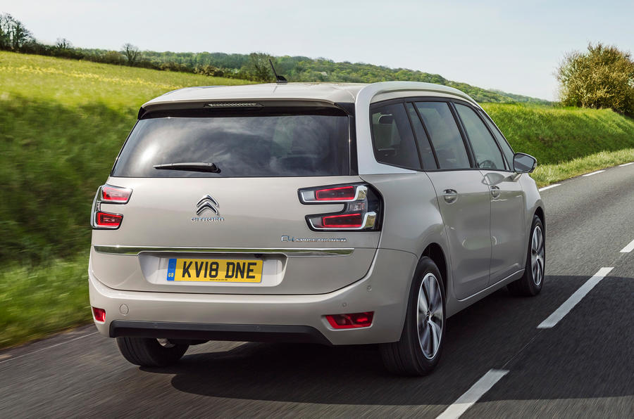 Citroën C4 Spacetourer MPVs priced from £21,125