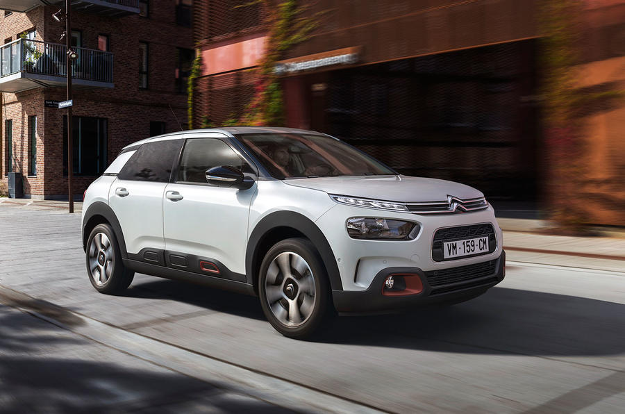 Citroen reveals new version of C4 Cactus SUV