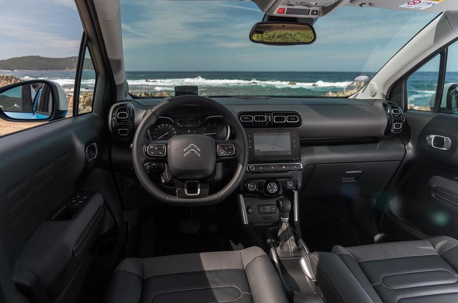 citroen c3 aircross 2017 review autocar. Black Bedroom Furniture Sets. Home Design Ideas