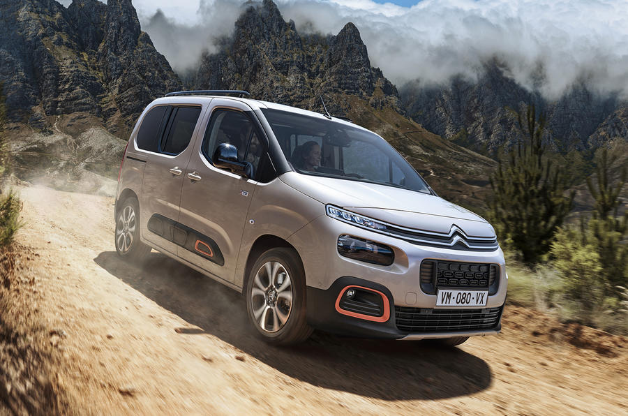 new citroen berlingo multispace gets suv influence extended variant autocar. Black Bedroom Furniture Sets. Home Design Ideas