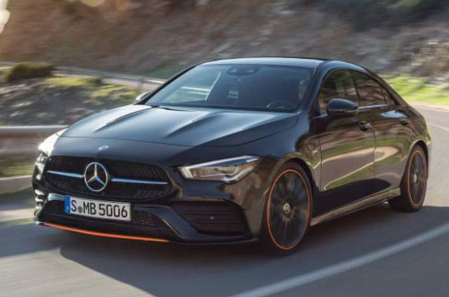 new 2019 mercedes cla images leaked ahead of reveal autocar. Black Bedroom Furniture Sets. Home Design Ideas