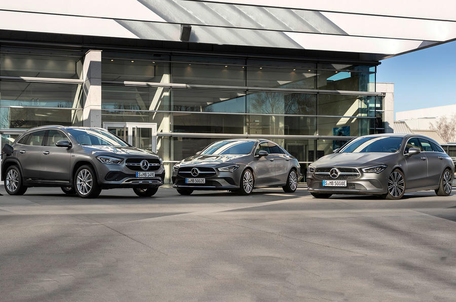 2020 Mercedes-Benz CLA, GLA and A-Class PHEvs