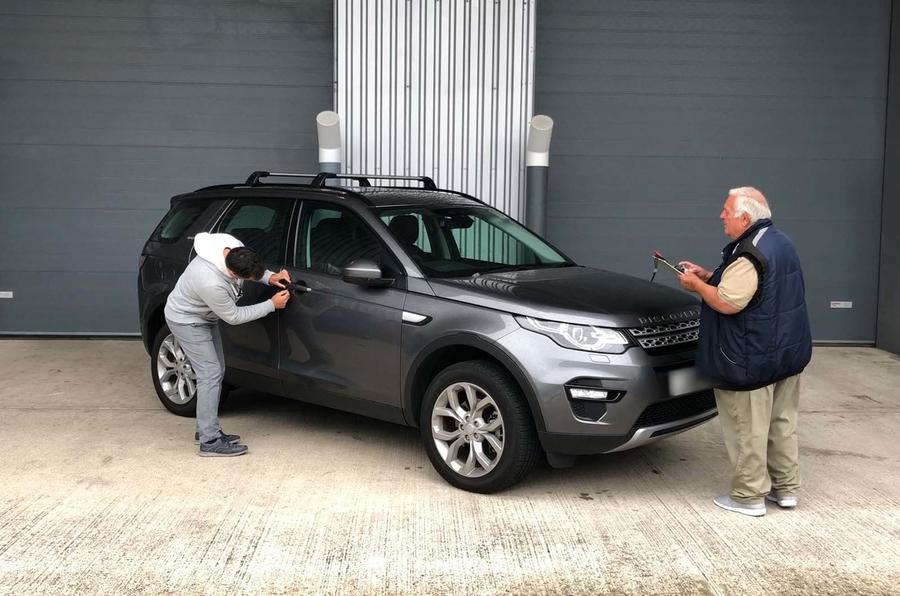 Land Rover Discovery Sport theft analysis