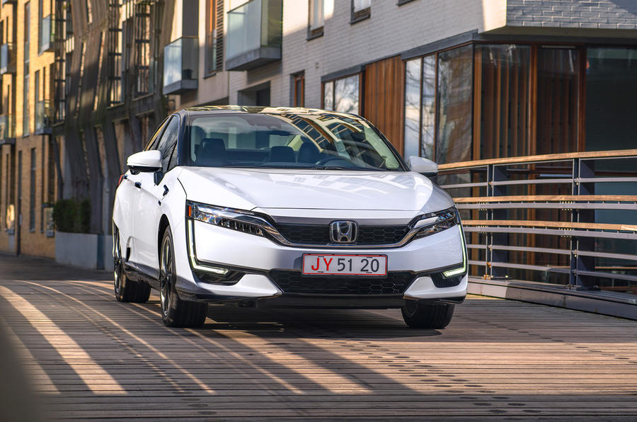 Honda Clarity Fuel Cell 2017 review Autocar