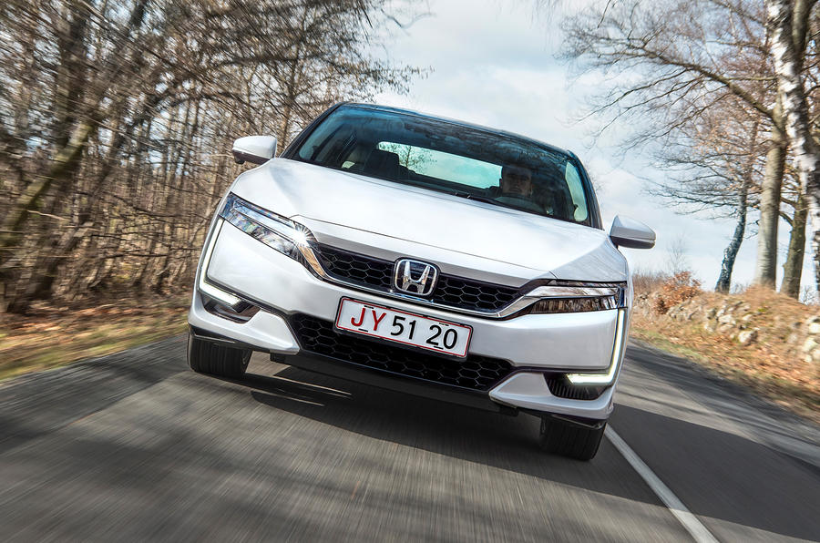 Honda Clarity Fuel Cell front end