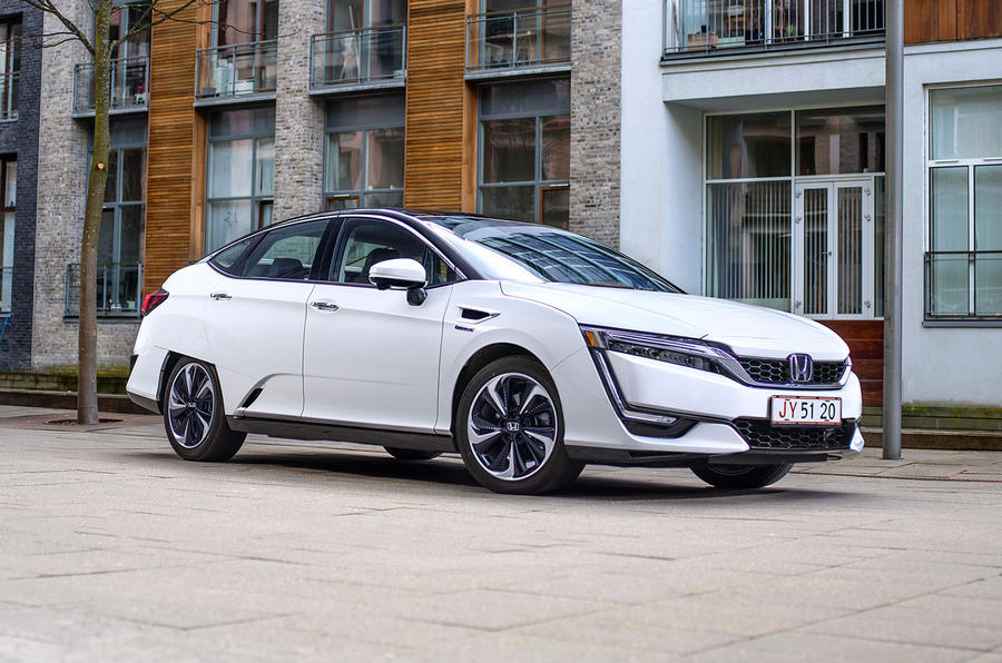 4 star Honda Clarity Fuel Cell