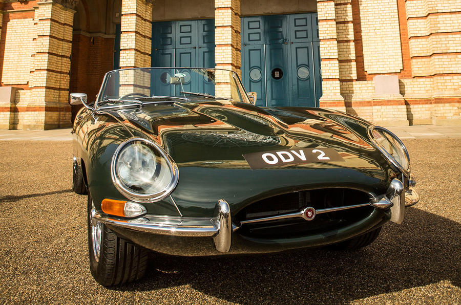 Jaguar E Type Named The Best British Car At Classic U0026 Sports Car   The  London Show
