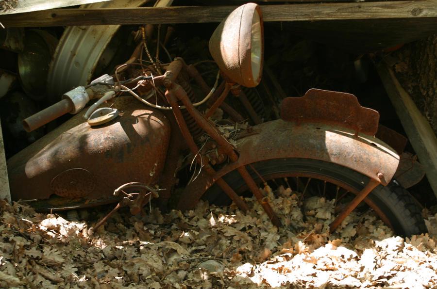 Rust motorbike