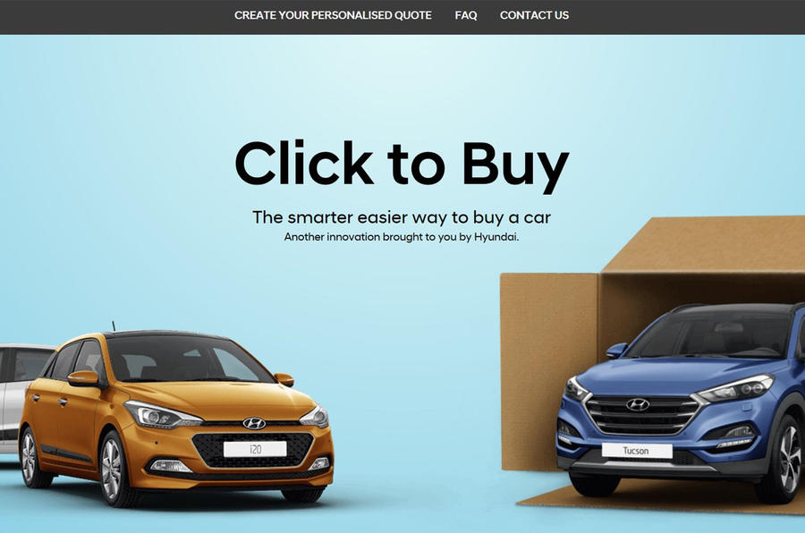 Hyundai Click to Buy
