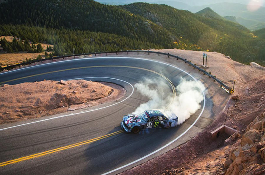 Ken Block's Gymkhana takes to Pikes Peak