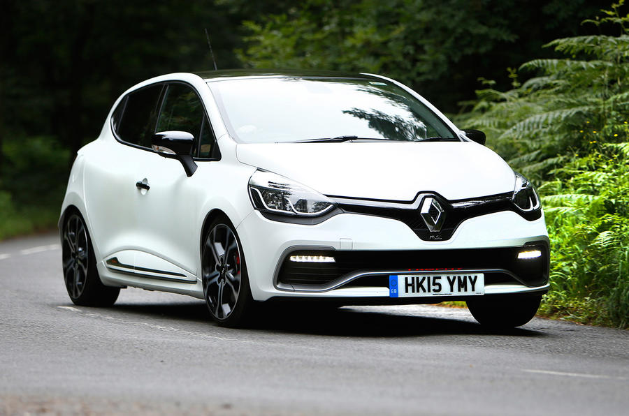 2015 renault clio rs 220 trophy review review autocar. Black Bedroom Furniture Sets. Home Design Ideas