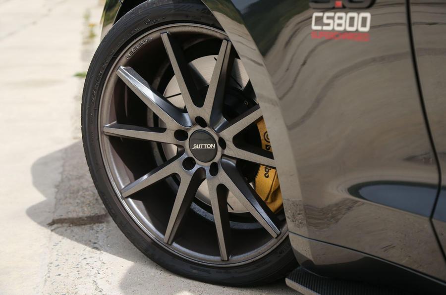 Sutton Mustang CS800 alloy wheels