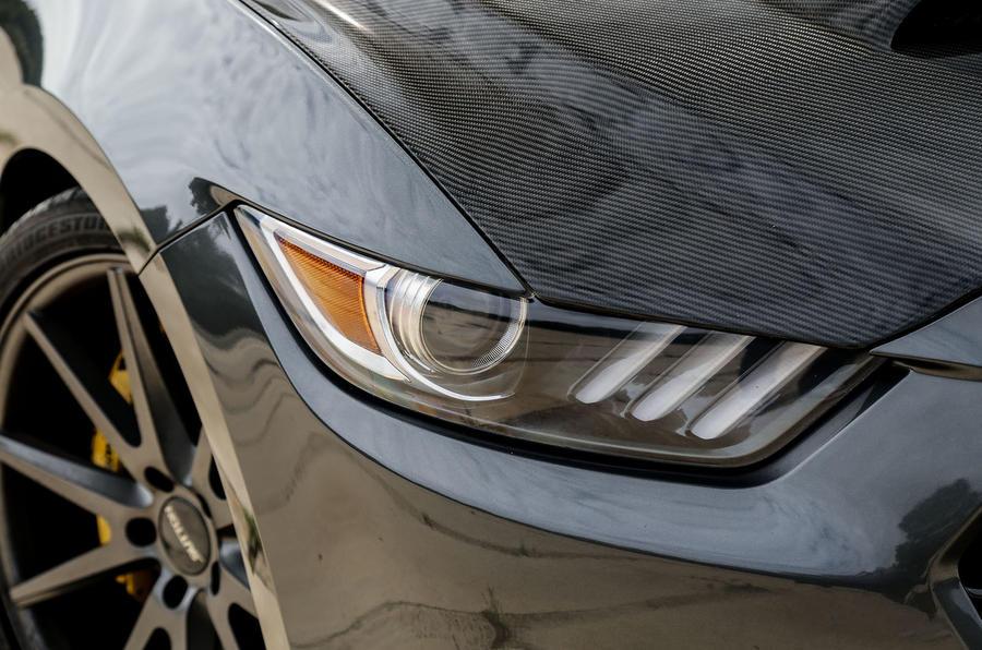 Sutton Mustang CS800 headlights