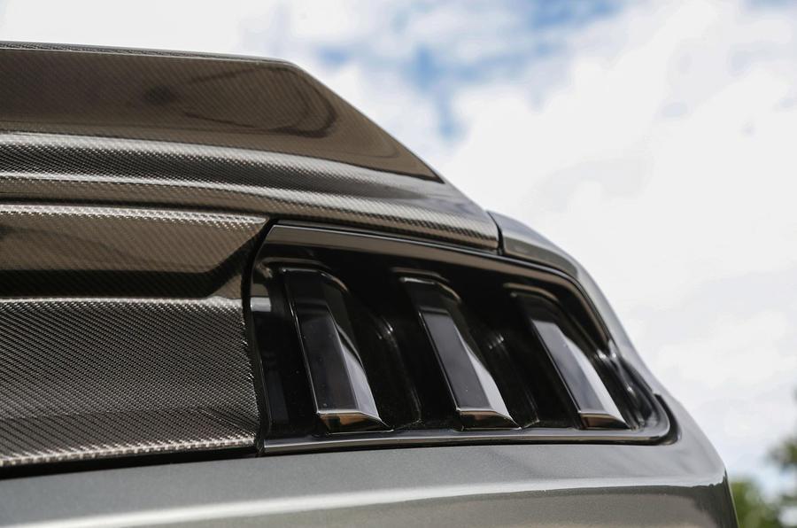 Sutton Mustang CS800 rear lights