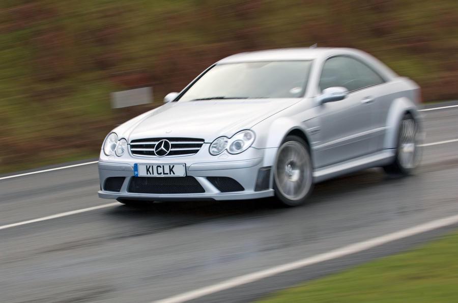 Mercedes-Benz CLK63 Black Series