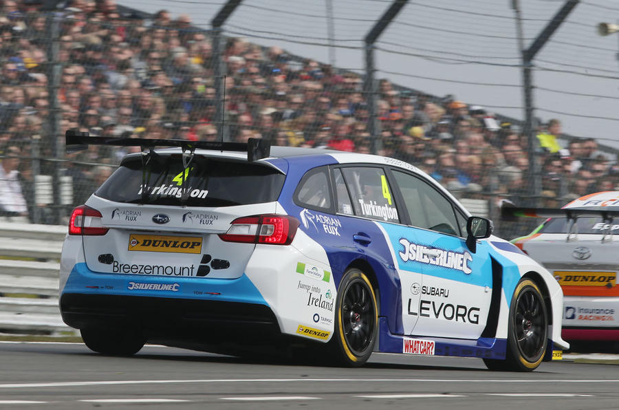 Honda S Matt Neal Leaves Brands Hatch Atop Btcc Points