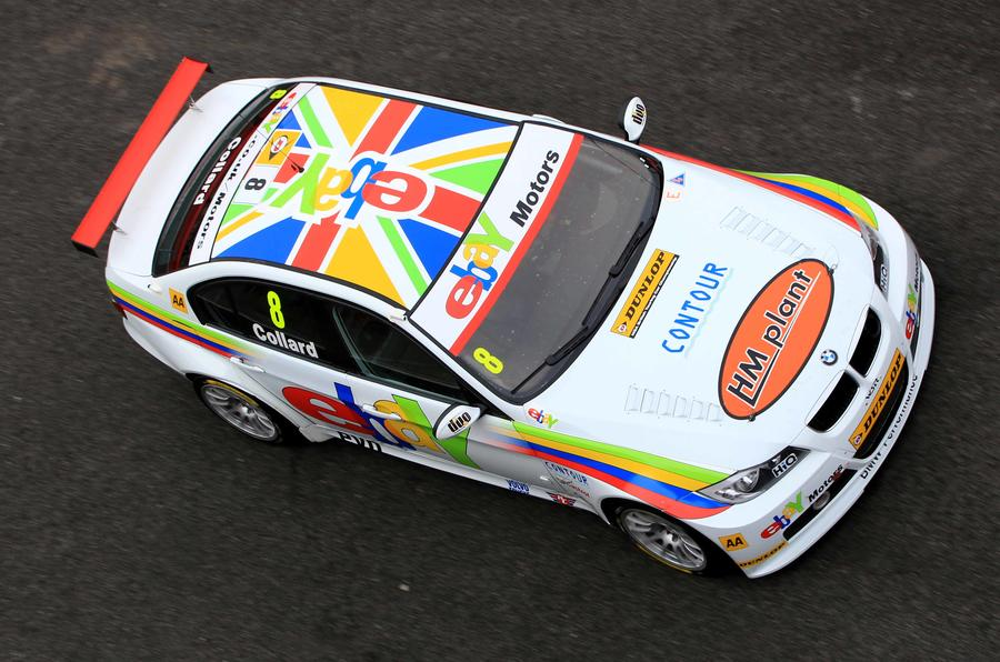 Rob Collard won three races in 2012, in what was the final season for the BMW 320si
