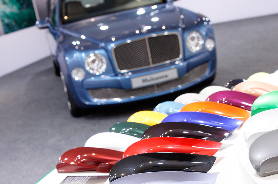 The UK's most popular new car colours