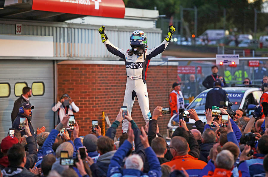 Colin Turkington celebration