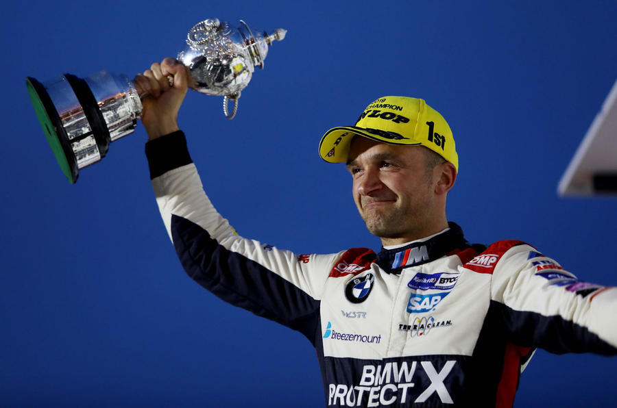 Colin Turkington trophy