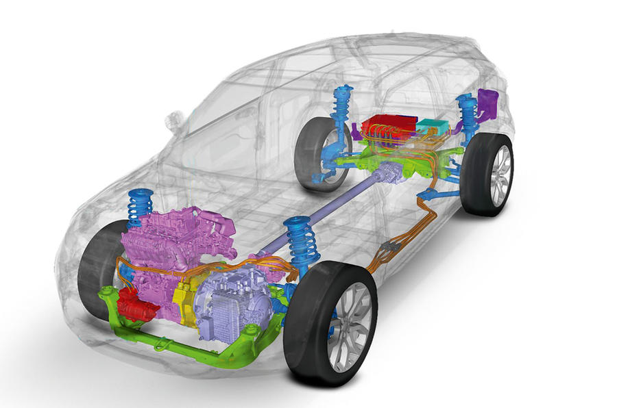 Mild hybrid set-up for Evoque and Discovery Sport