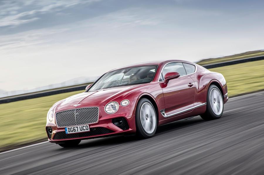 Bentley continental 2018