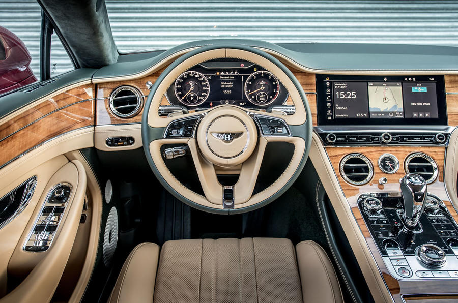 2018 Bentley Continental GT first drive