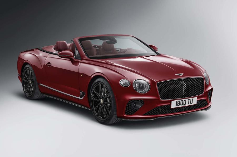 Bentley reveals GT Convertible Number 1 Edition