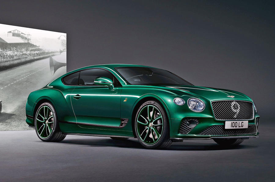 Continental GT Number 9 Edition by Mulliner