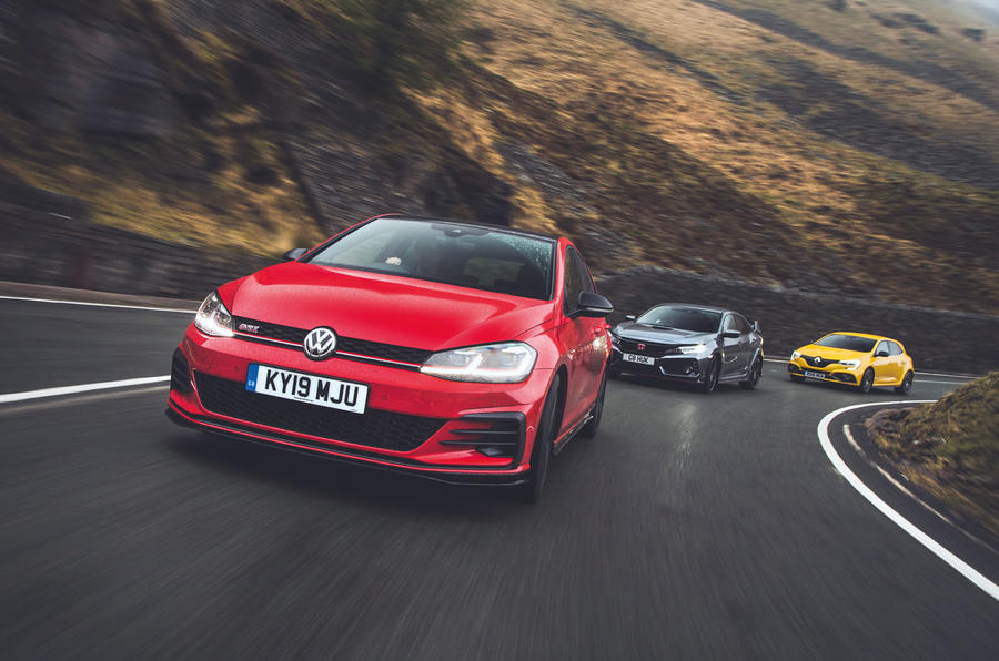 Hot hatch face-off: Volkswagen Golf GTI TCR vs main rivals