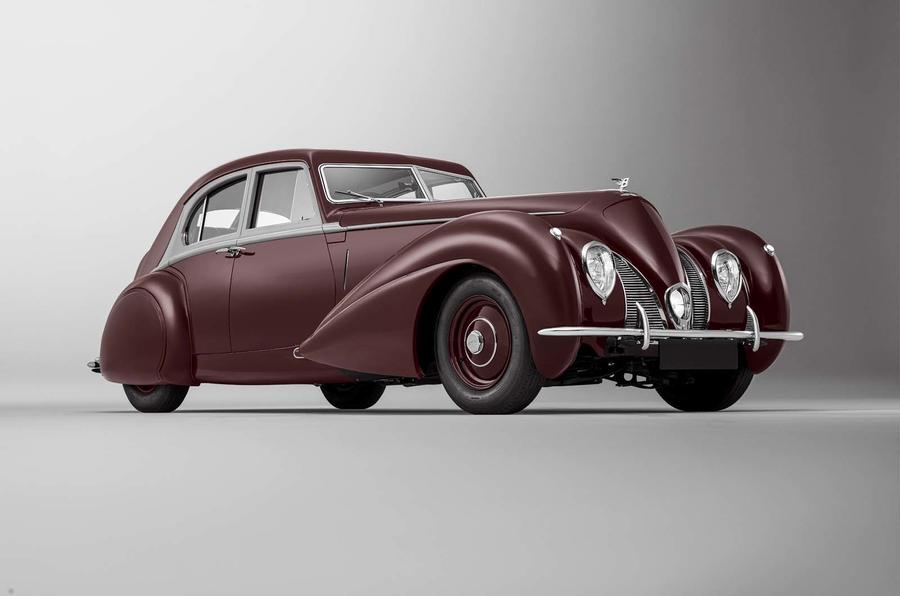 1939 Bentley Corniche continuation model