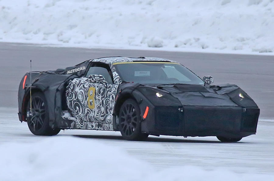 2019 Chevrolet Corvette C8 - mid-engined supercar spotted ...