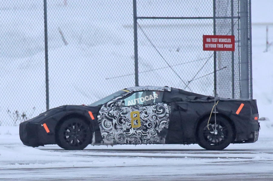 2019 Chevrolet Corvette C8 Mid Engined Supercar Spotted