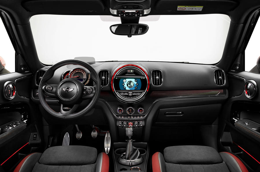 2017 Mini Countryman JCW interior