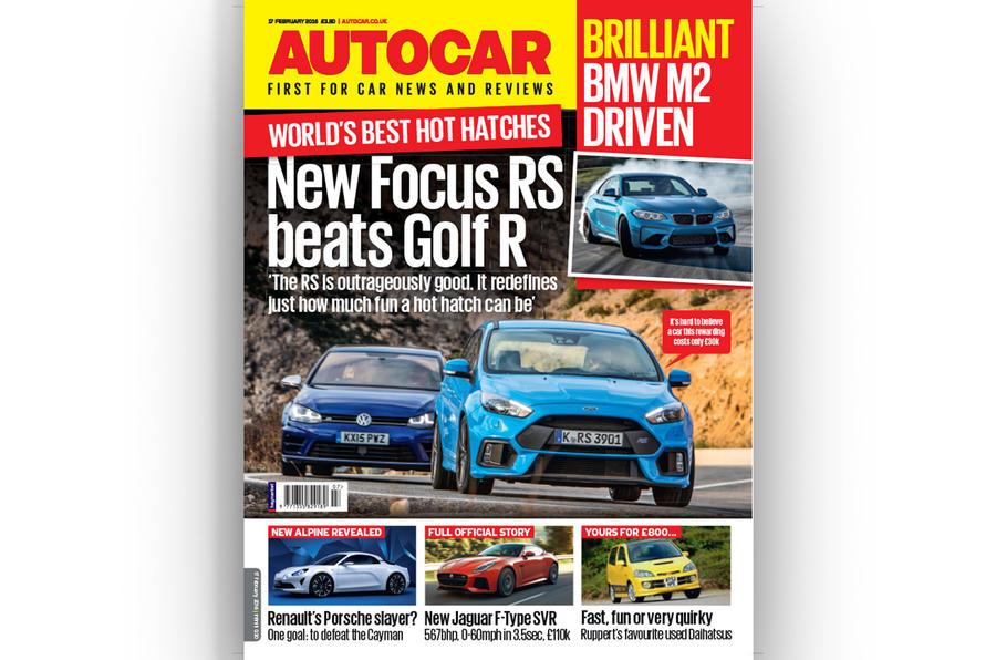 Autocar cover 17 February