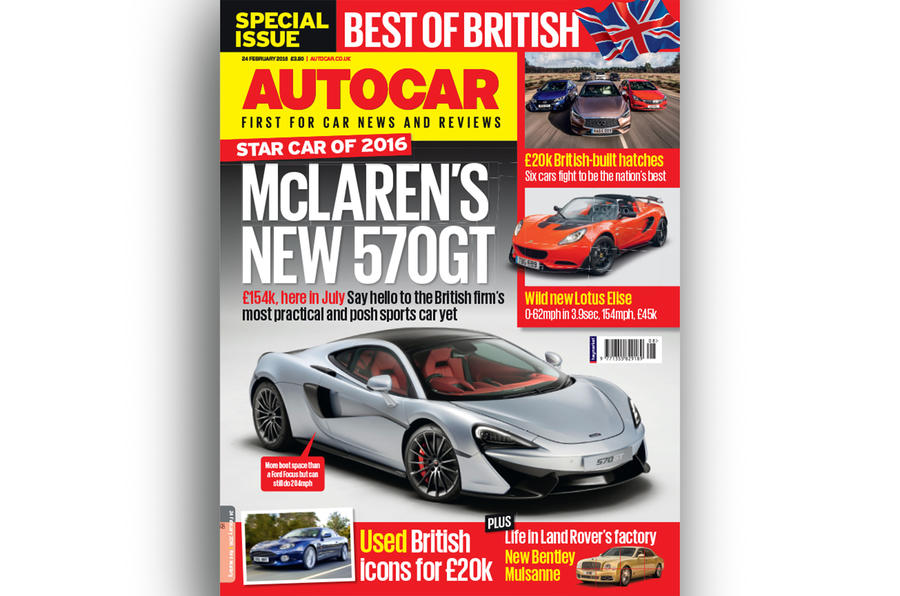 Autocar cover 24 February