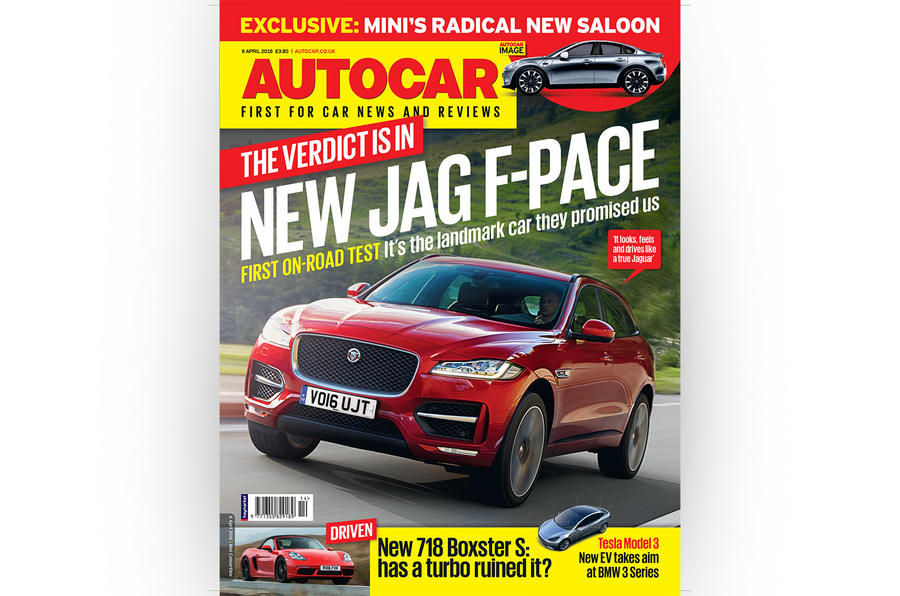 Autocar cover 6 April