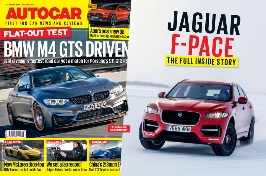 Autocar magazine 13 April