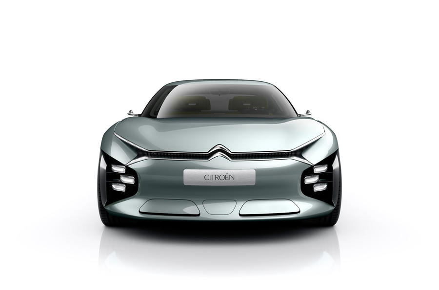 Citroën saloon concept sports Advanced Comfort tech