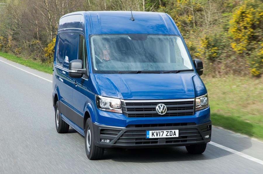 Volkswagen vans AEB