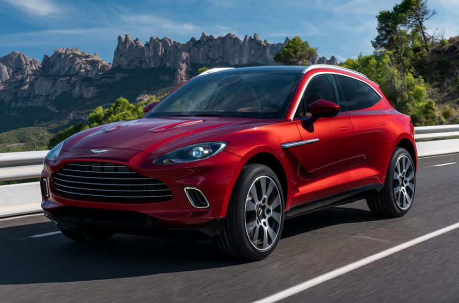 New Aston Martin >> New Aston Martin Dbx 542bhp Suv Charged With Reviving Firm