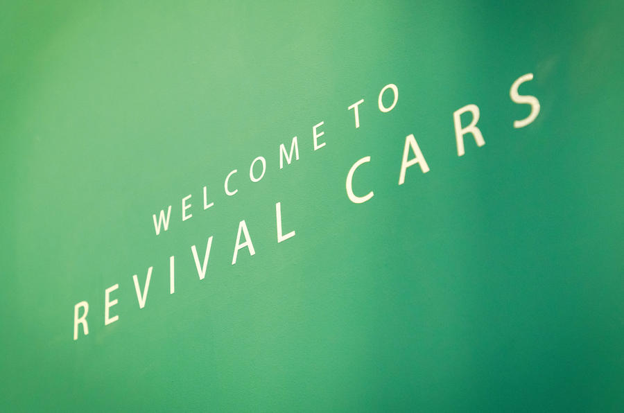 Revival cars sign