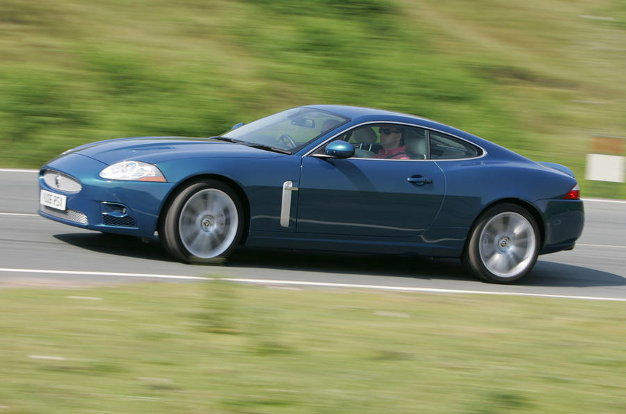 Jaguar XK side
