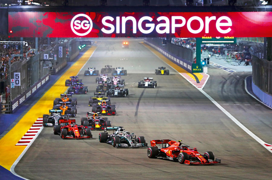 LeClerc in Singapore