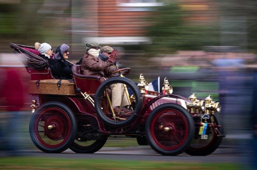 London to Brighton Veteran Car Run - veteran car