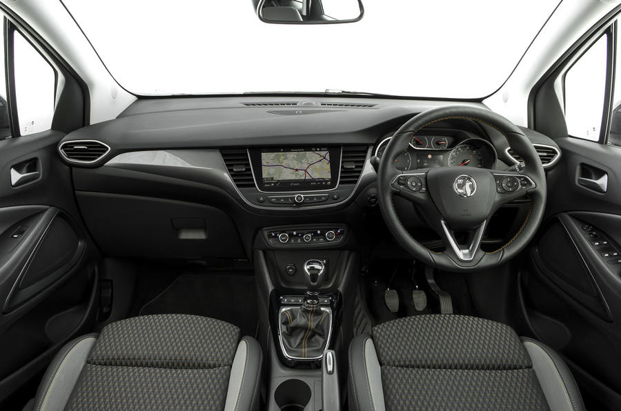 Vauxhall Crossland X dashboard