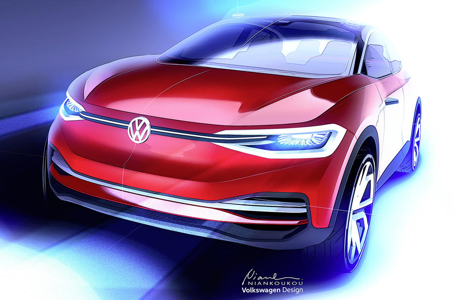 Volkswagen previews more production-ready ID Crozz ahead of Frankfurt motor show reveal